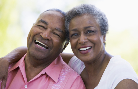 vol6-1, Image - elderly african american couple smiling