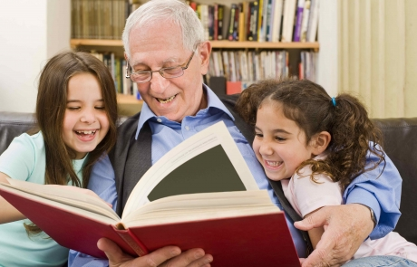 grandparents and learning