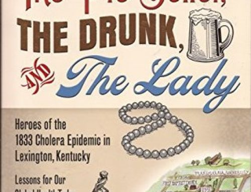 1833 Lexington epidemic topic of book, Facebook Live event