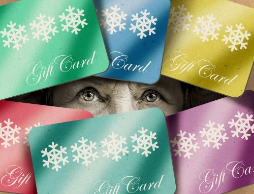 Someone wants payment with a gift card? It's a scam!